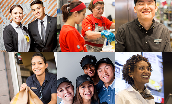 Collage of Diverse Employees